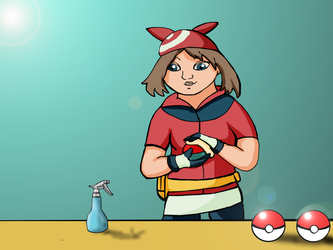 May Cleaning Pokeball by J4B