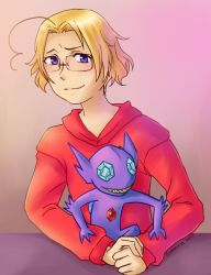 Canada and Sableye by sammich