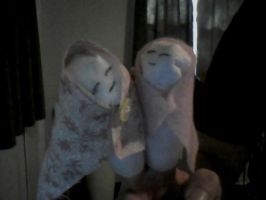 Two New Finger Puppets by Le-Smittee