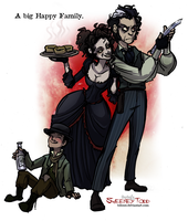 Sweeney Todd: Big Happy Family by Bilious
