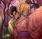 Cherry blossoms by NikaInfinity