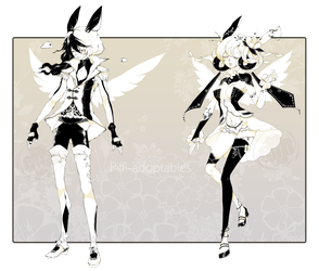 [CLOSED]ADOPT DYNAMIC PRICE 242 - White Souls by Piffi-sisters