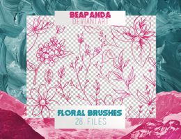 Brushes 003 // Floral by BEAPANDA