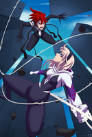 Spider Girl Gwen Stacy by el-everman