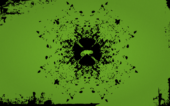 openSUSE wallpaper 3 by nknwn