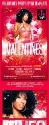 Valentines Party Night Flyer Template by SensationPhotoworks