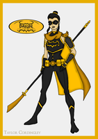 Batgirl Inc - Black Bat Redesign by Femmes-Fatales