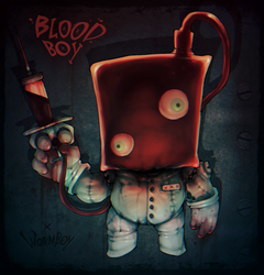 HAPPY LITTLE BLOOD BOY by WORMBOYx