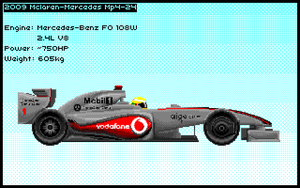 McLaren MP4-24 by Rhopunzel