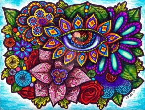 Eye of the Garden (FOR SALE) by HGCreations
