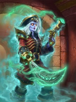 Hearthstone - Phantom Freebooter by namesjames