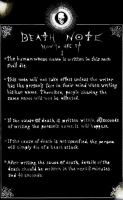 DeathNote-Damaged Instructions by neonknight1