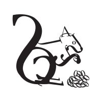 typography squirrel by KeiiTii