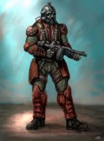Recon Trooper by james-olley
