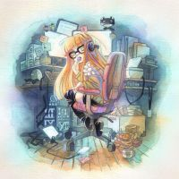 Futaba's Favorite Chair by blix-it