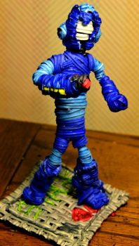 Twist Tie Mega-Man by justjake54