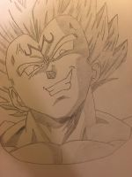 Majin Vegeta by RecklessJD