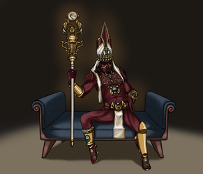 Let's be Joko for Mad King's Day by Petrazilla