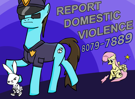 Report Domestic Violence by EwoudCPonies