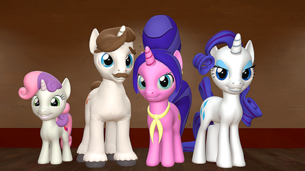 Rarity's Family by Fullmoonrose7