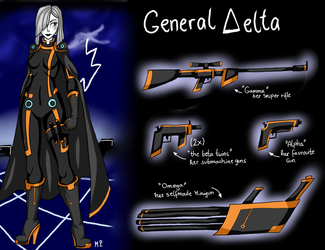 :TRON OC: General Delta by MikuParanormal