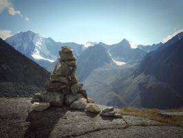 Stone Thinker by MikeMS