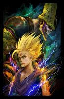 Gohan Ultimate Wrath by Eyardt