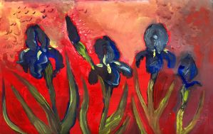 Irises  by Inprismed