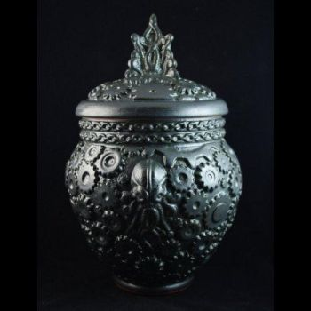 Steampunk Cthulhu Jar - Limited Edition by TheTrespasser