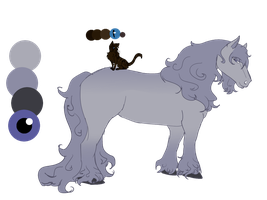 Lavender And Tico Ref Shet by WierkaKita