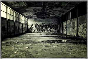 abandoned paper mill by LumenDonas