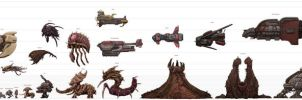 Starcraft to Scale (old) by xiaorobear