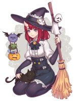 Little Horn Witch by Kaizeru