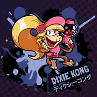 SMASH 150 - 013 - DIXIE KONG by professorfandango