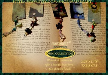 MiniCollection Jewel Bookmarks by mairimart