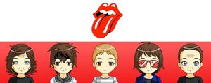 The Rolling Stones by JackHammer86