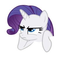 Rarity bored by Vexorb
