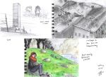 urban sketching 18.3.: inner city by light-serpent