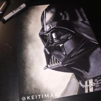 Darth Vader by KeitimariArt