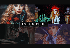 PSD Pack #17 - Worlds Outside My Window by Evey-V