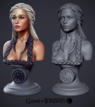 Daenerys Targaryen the Khaleesi by iononemillion