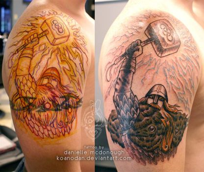 12.04.2013 viking cover-up session 1 by koanodan