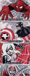 Marvel Beginnings 2 Red by KidNotorious
