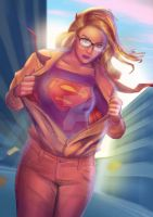 Supergirl: Up, Up and Away by Kyber02