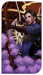 Nathaniel Howe Tarot card by ChelseaGeter