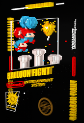 Balloon Fight 3D cover by ShinMusashi44