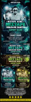Mixtape Release Party PSD by EmDesignEmd