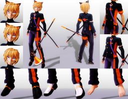 [MMD] TDA ZeeU [DL] [300+ Watchers Gift 3] by Nintendraw