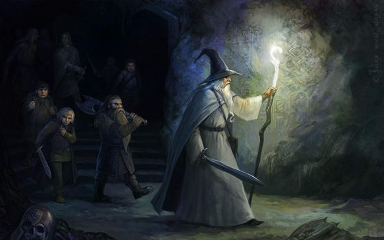 mines of Moria by CG-Warrior