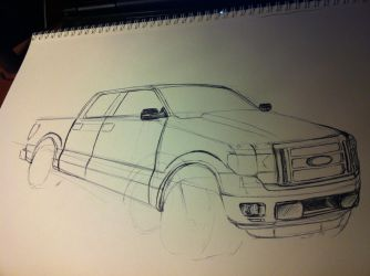 F-150 middle by FlashhhThunderrr